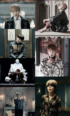 BTS // Wallpaper // Blood Sweat and Tears