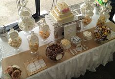 Rustic Lolly Buffet Wedding Party Ideas | Photo 5 of 25 | Catch My Party