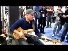 Incredible Bass Solo (Wojtek Pilichowski) - YouTube  - you absolutely have to watch this one and a half minutes this guy is so good