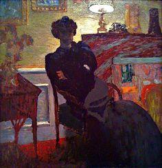 Madame Hessel at Home - Eduoard Vuillard, 1908