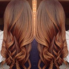 This is how I want my hair color to be!                                                                                                                                                      More