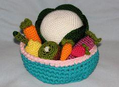 Si te gusta trabajar la #lana, te gustarán estas frutas. Vía Manualidades.
