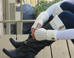 Brooklyn Boot Cuffs, Free Crochet Pattern