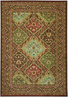 Couristan Pera Collection 2071-0641 Vintage Multi Rug