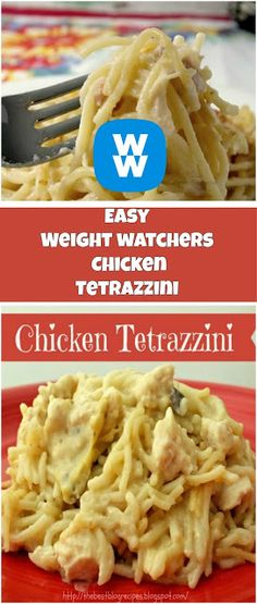 Easy Chicken Tetrazzini 7 points + - weight watchers recipes