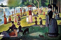 Georges Seurat - Un dimanche après-midi à l'Île de la Grande Jatte (1886)