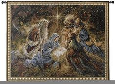 Fine Art Tapestries We Three Kings Wall Tapestry ** You can get additional details at the image link.