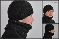 Tricoter un bonnet pour homme   Rénovation   Pinterest   Knitting ... 1dc3b96fafa