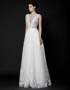 Brands   Wedding Gowns    Zinnia A-Line Gown   Hudson's Bay