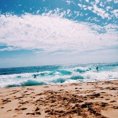 summer, beach, and ocean image The Beach, Ocean Beach, Beach Day, Summer Beach, Beach Tumblr, Destinations, Beach Aesthetic, Summer Goals, California Beach
