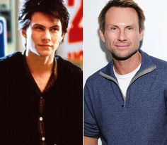 Christian Slater...then and now.