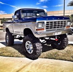 1978 Ford F-150 4X4.