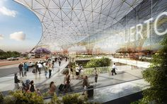 Bustler: Foster + Partners and FR-EE collaboration to design new Mexico City International Airport