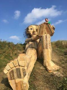 Six Wooden Giants Hidden Around Copenhagen Malta, Denmark Travel, Danish Style, Copenhagen Denmark, Heritage Site, Sculpture Art, Mount Rushmore, Travel Inspiration, Fantasy Art