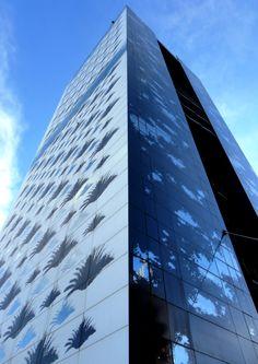 The Renaissance Barcelona Fira hotel glass