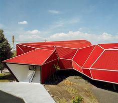 Nestle Chocolate Factory ,Paseo Tollocan, Toluca, Mexico, architect Michel Rojkind