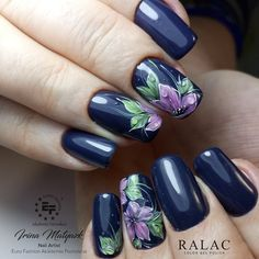 So beautiful Lace Stamping & Floral Pattern Nail Design - Reny styles Beautiful Nail Designs, Cool Nail Designs, Beautiful Nail Art, Flower Nail Designs, Nail Designs Spring, Nail Patterns, Manicure E Pedicure, Nagel Gel, Nail Decorations