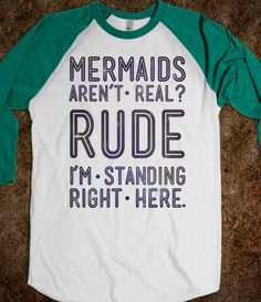 Mermaids are real tank