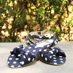 Rasteira de Poá Shoestockinha para as meninas fashionistas! #shoestcokinha #infantil #flatmenina #verao2014 - Ref 45.01.0046