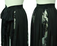 "Sheglit ""Long tail gathered skirt"""