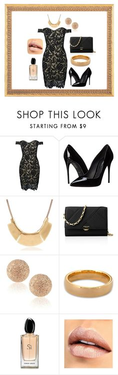 """Beauty"" by elvisa-mirsad ❤ liked on Polyvore featuring WithChic, Dolce&Gabbana, Michael Kors, Carolina Bucci, West Coast Jewelry and Giorgio Armani"