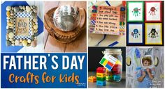 Does dad already have coffee mugs, and an endless amount of daddy's day ties? Try something new. Here are the best crafts for your kids to try this Father's Day.