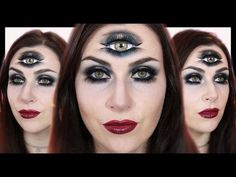 Fortune Teller / Third Eye Makeup | Halloween 2015
