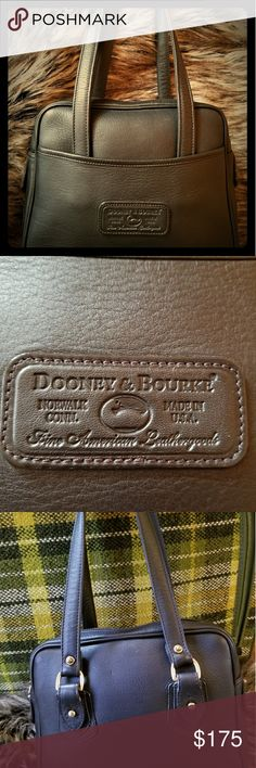 RARE!! Vintage Dooney&Bourke handbag Rare, vintage style dooney &Bourke. Made in USA  out of glove tanned leather.Features brass hardware and unlined suede interior.This bag is so incredibly soft!!Shows absolutely no signs of wear. Dooney & Bourke Bags Satchels