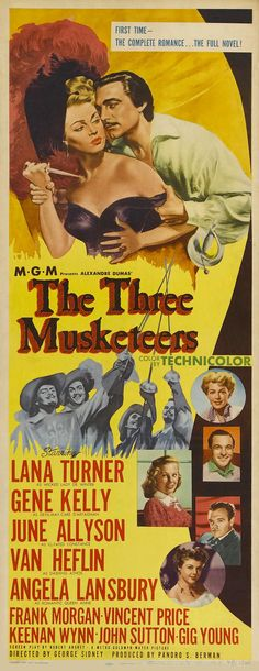 Three Musketeers (1948). One of the best big budget treatments of the Alexandre Dumas novel with an all star cast.