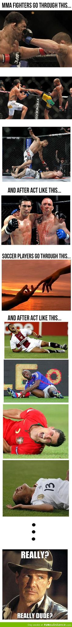 i know from years of watching soccer that this is true!
