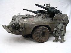 Hexen and Mk44 by Mark`Stevens ModelCrafter, via Flickr