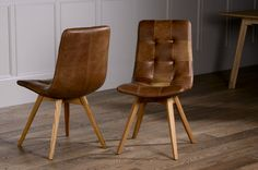 It's no secret that leather dining chairs look simply stunning in your dining room. Find out what our expert say. Click Here!