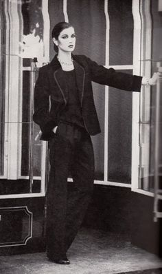 1978 - YSL suit