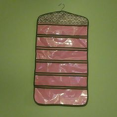 Hanging Jewelry Organizer Double sidedHanging Jewelry Organizer