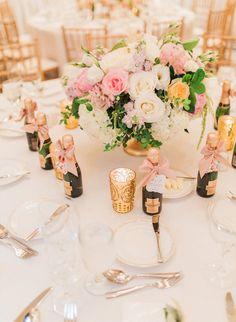Elegant Blush Wedding at St. Regis Monarch Beach - Inspired By This