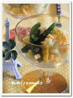 カリフラワーのカレー風味マリネサラダ♪ミモザ風♪♪土鍋ご飯も・・・|レシピブログ
