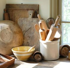 Breadboards and Dough Troughs via Knick of Time