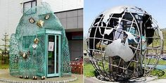 12 Cool and Unusual Phone Booths Around the World