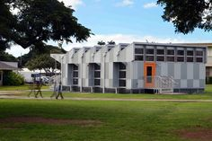 Energy Positive Relocatable Classroom | Anderson Anderson Architecture | Archinect