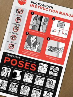 Burn Creative blog: Project Spotlight: Photo Booth instruction manual.