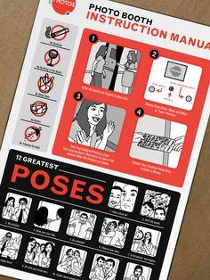 Burn Creative blog: Project Spotlight: Photo Booth instruction manual.