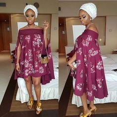 Check Out This Lovely Aso Ebi Styles 2017 - DeZango Fashion Zone