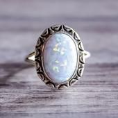 Oval Opal Navajo Ring - LIMITED STOCK