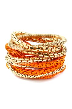 Accessorize with orange – Emma Stine Jewelry Bracelets Fashion Jewelry Necklaces, Fashion Earrings, Jewelry Sets, Jewelry Bracelets, Jewelry Accessories, Fashion Accessories, Fashion Bracelets, Stack Bracelets, Beading Jewelry