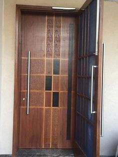 Lesser Seen Options for Custom Wood Interior Doors Door Design Interior, Main Door Design, Wooden Doors Interior, Rustic Doors Interior, Wood Doors, Wooden Room, Custom Entry Doors, Trendy Door, Doors Interior