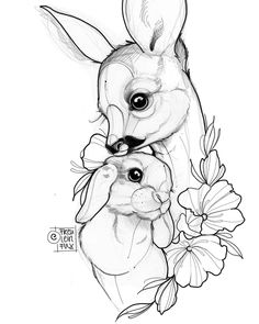 Katze Tattoo 2019 Katze Tattoo The post Katze Tattoo 2019 appeared first on Floral Decor. Pencil Art Drawings, Cute Drawings, Animal Drawings, Tattoo Drawings, Drawing Sketches, Body Art Tattoos, Sketch Art, Bunny Tattoos, Rabbit Tattoos