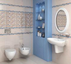 керамическая плитка  для ванной комнаты Kerama Marazzi Фестиваль тюльпанов