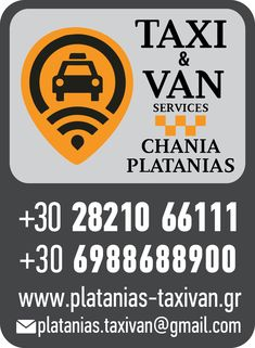Chania airport taxi &minibus services