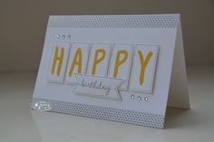 Stampin Adventures, Marlieke Smetsers, Stampin' Up! Layered Letters Alphabet, Washitape, Celebrate Today, Triple Banner Punch
