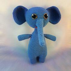 Freie Häkelanleitung: Amigurumi-Elefant
